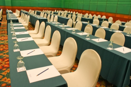 luxuary seminar room in hotel photo