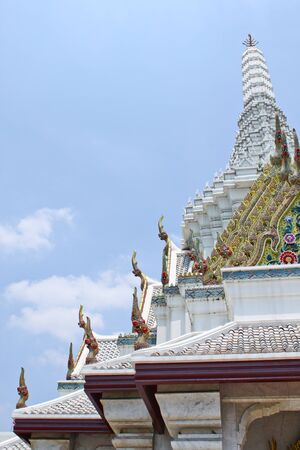 temple roof,Thai style photo