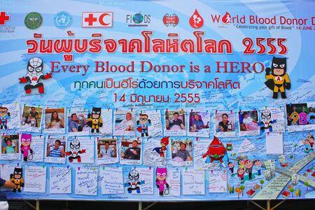 redcross organization billboard for advertising