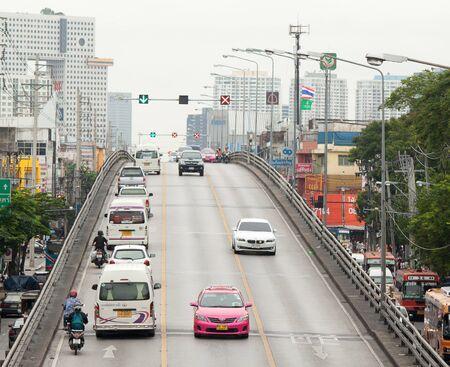 traffic in city Editorial