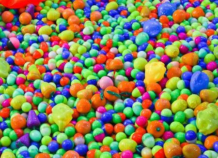 small plastic ball