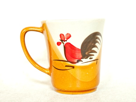 cup with chicken image Stock Photo - 15222235