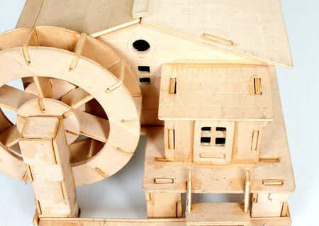 plywood: plywood house model