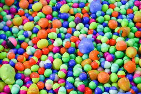 beautiful colorful ball