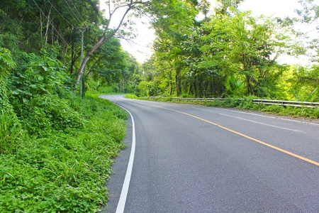 road iin turning