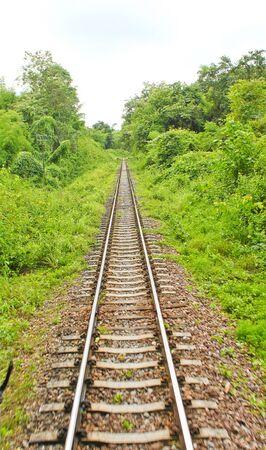 long railway Stock Photo