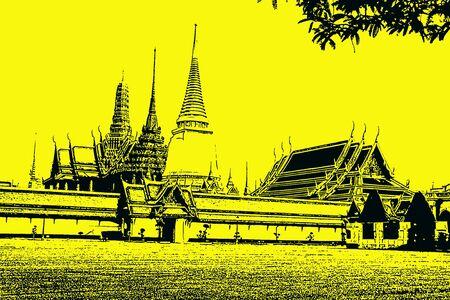grunge temple image
