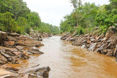 natural stream in Chianmai ,Thailand