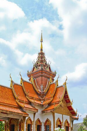 Thai temple and sky
