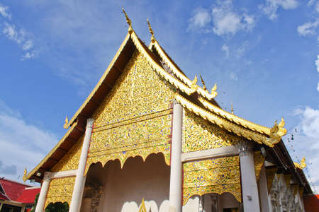 Thai Lanna style temple photo