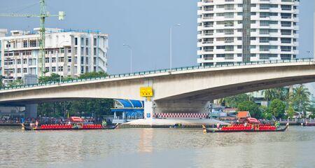 Ancient Thai Royal Barge Procession