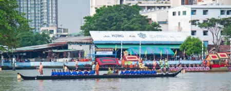 Thai Royal Barge Procession in November 9,2012