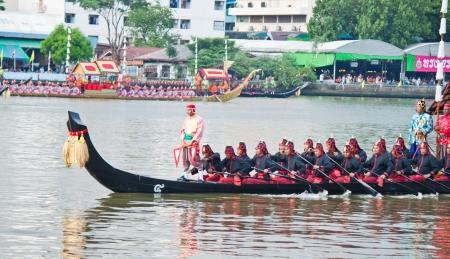Thai Royal Barge Procession in November,2012