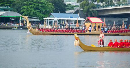 The Thai Royal Barge Procession