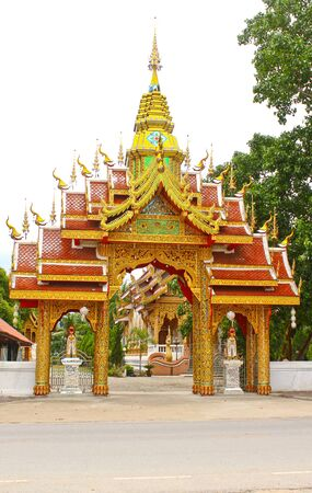 Entrace of Temple