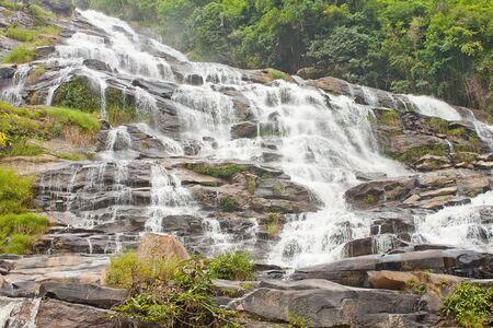 tropical waterfall ,Maesa