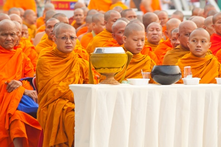 group of monks