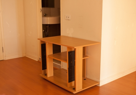 table for tv in room