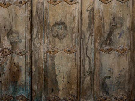 puerta: La textura de la vieja puerta de madera