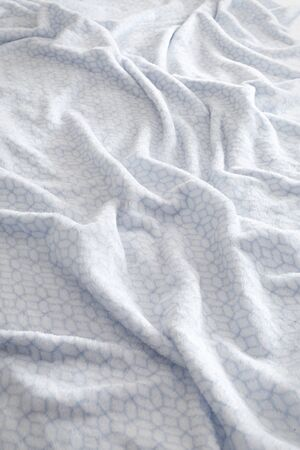bed sheet: Soft white and blue bed sheet background