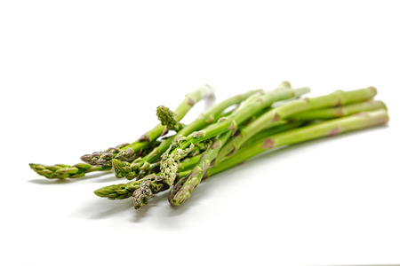 nutritiously: Asparagus isolated on a white background