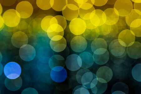 yelloow: Abstract tropical bokeh bakground