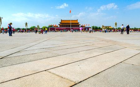 天安門広場、北京、中国の天安門の。
