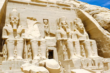 Abu Simbel Temple of Ramesses II, Egypt
