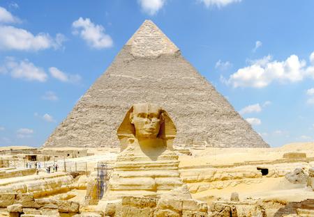 Die Große Sphinx von Gizeh . Ägypten Standard-Bild - 78524960