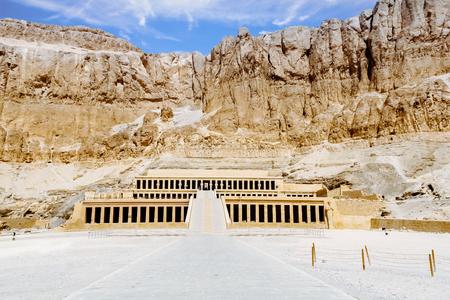 Mortuary temple of Queen Hatshepsut. Luxor, Egypt