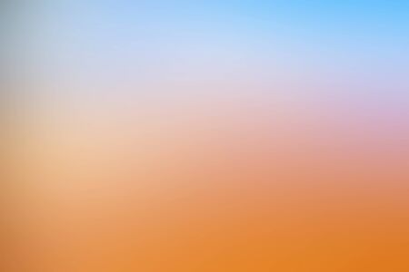 Abstract blurred natural sunset landscape background.