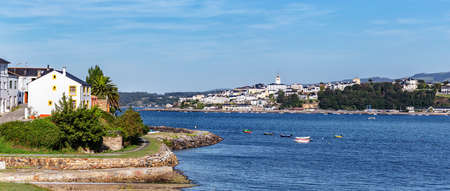 Landscape of Ribadeo. Lugo province. Tourism in Galicia. The most beautiful spots in Spain ..