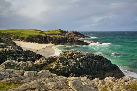 Clachtoll Beach on the Scottish west coast