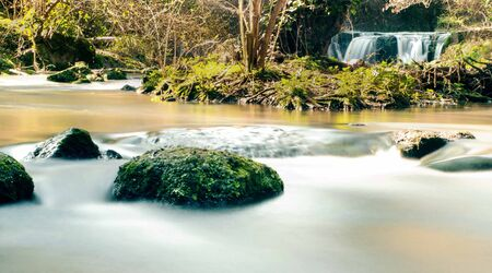 Monte Gelato waterfalls are a typical natural  beauty in the Lazio hinterland area