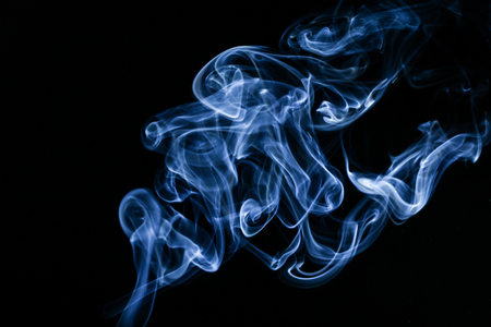 The abstract picture of the smoke.