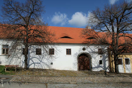 The birthplace of Jan Hus in Husinec in Czech Republic. The sight and attraction for the tourists.