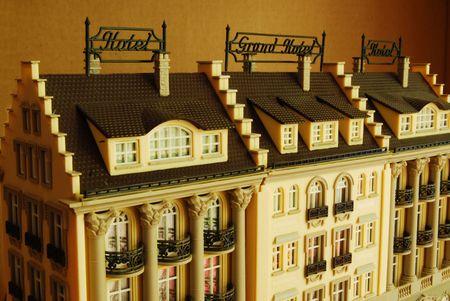 babylonian: Hotel y Grand Hotel como modelo en miniatura