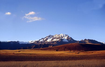 andes mountain: Andes mountain in Peru Stock Photo