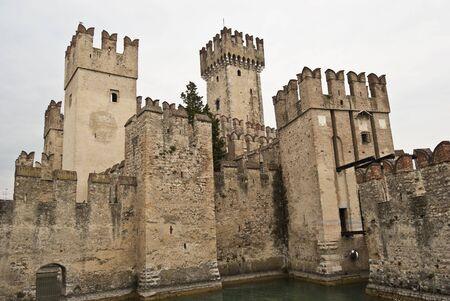 sirmione: Scaliger Castle in Italys Sirmione