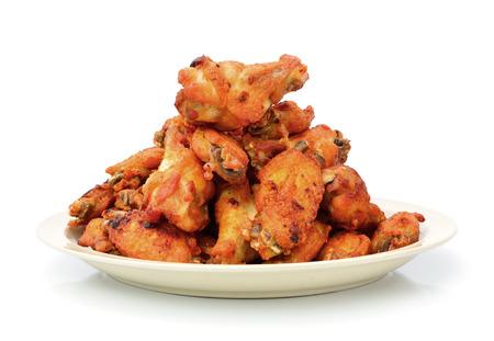 alitas de pollo: Pollo frito