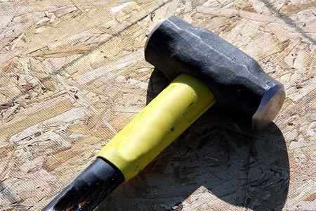 Sledge hammer 스톡 콘텐츠 - 4422947