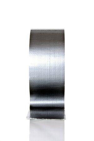 silver duct tape Banco de Imagens