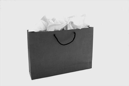 검은 색 쇼핑백