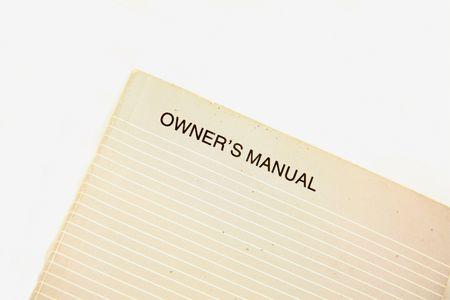 owners manual Zdjęcie Seryjne