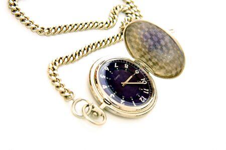 mans watch: y cadena de reloj de bolsillo