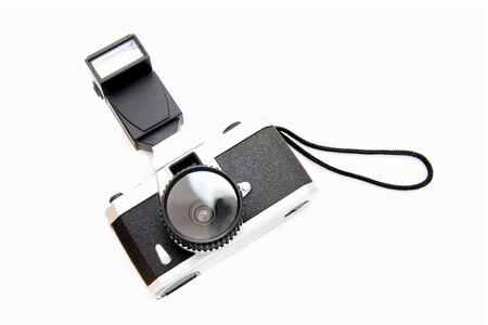 플래시가있는 카메라 스톡 콘텐츠