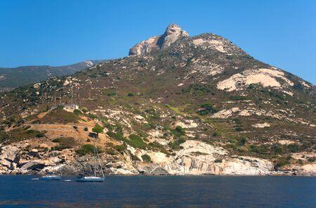 The Western coast of Elba Island, Italy. Stock Photo - 7814182