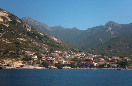Small village between mountains and sea - Elba Island, Italy Stock Photo - 7813787