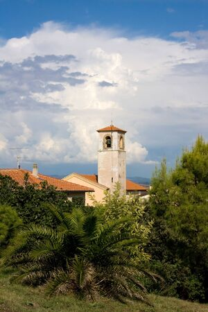 telamon: Travel Series - Telamon, Tuscany - View on the bell tower of Santa Maria Assunta church
