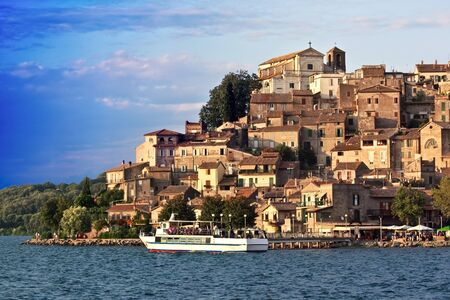 Travel Series - Anguillara Sabazia on Bracciano lake, Lazio, Italy.